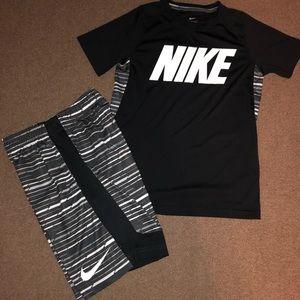 Nike Dri-Fit Short Set